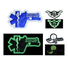Cloth Customized Logo 3D PVC Rubber Patch Badge